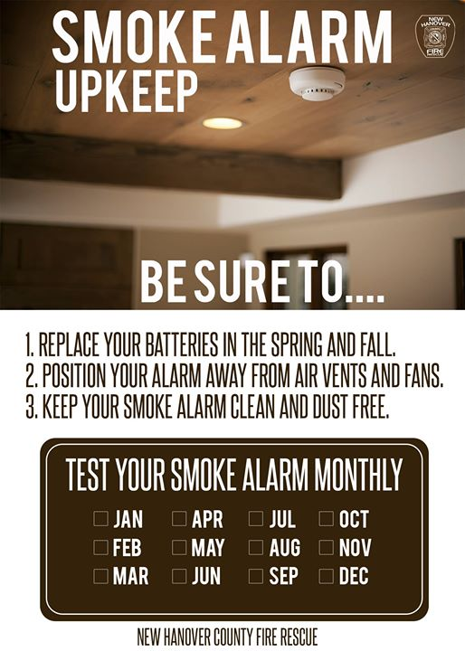 #Working #smokealarms greatly reduce the likelihood of a residential #fire fatality by providing occupants with early warning and giving them additional time to escape. #SafetyFirst #NHCFR