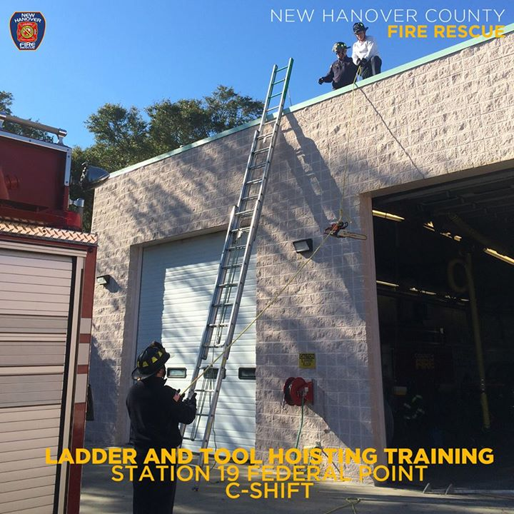 TRAINING, IT'S WHAT WE DO! STATION 19 #FEDERALPOINT #NHCFR