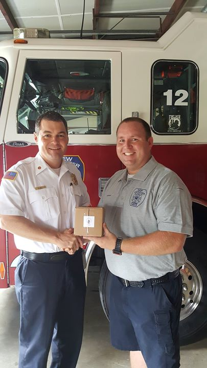 Congrats to Captain Russ Nipper for 5 years of service with NHCFR!