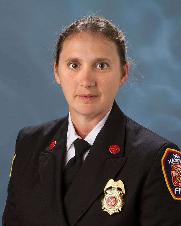 Congratulations to Battalion Chief Jennifer Smith for being appointed to serve on the Board of Directors for the Eastern Carolina Association of Firefighters! #NHCFR