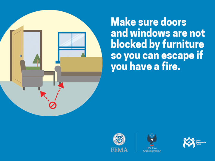 Create different fire scenarios for practicing your home fire escape plan like blocking some exits and conducting a fire drill in the dark. Develop a plan for each situation. #FirePreventionWeek #NHCFR http://ow.ly/Ar8m30jPLFZ