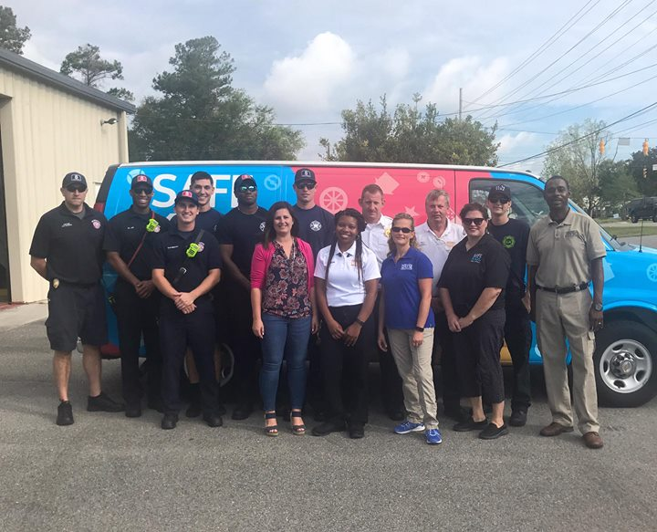 Safety Seat Take Back - big thanks to New Hanover Fire Department for hosting!