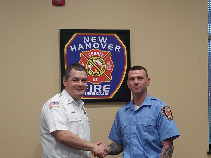 Welcome aboard to the newest member of the NHCFR family, Firefighter/Apparatus Operator Michael Stanley!