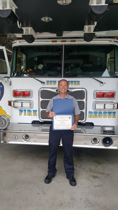 Congratulations Engineer Brian Theiss for Meritorious Unit Citation Award for efforts during Hurricane Florence.